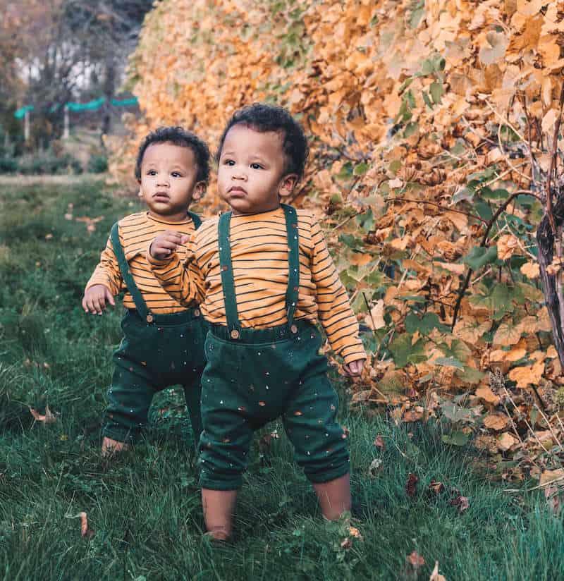 hippie babies plants trees