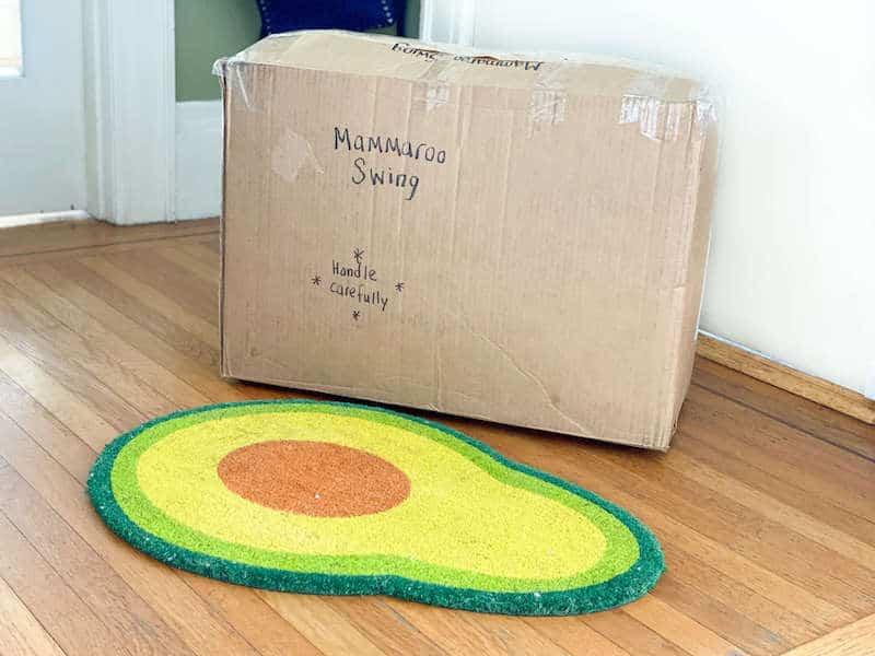 mamaroo swing storage box