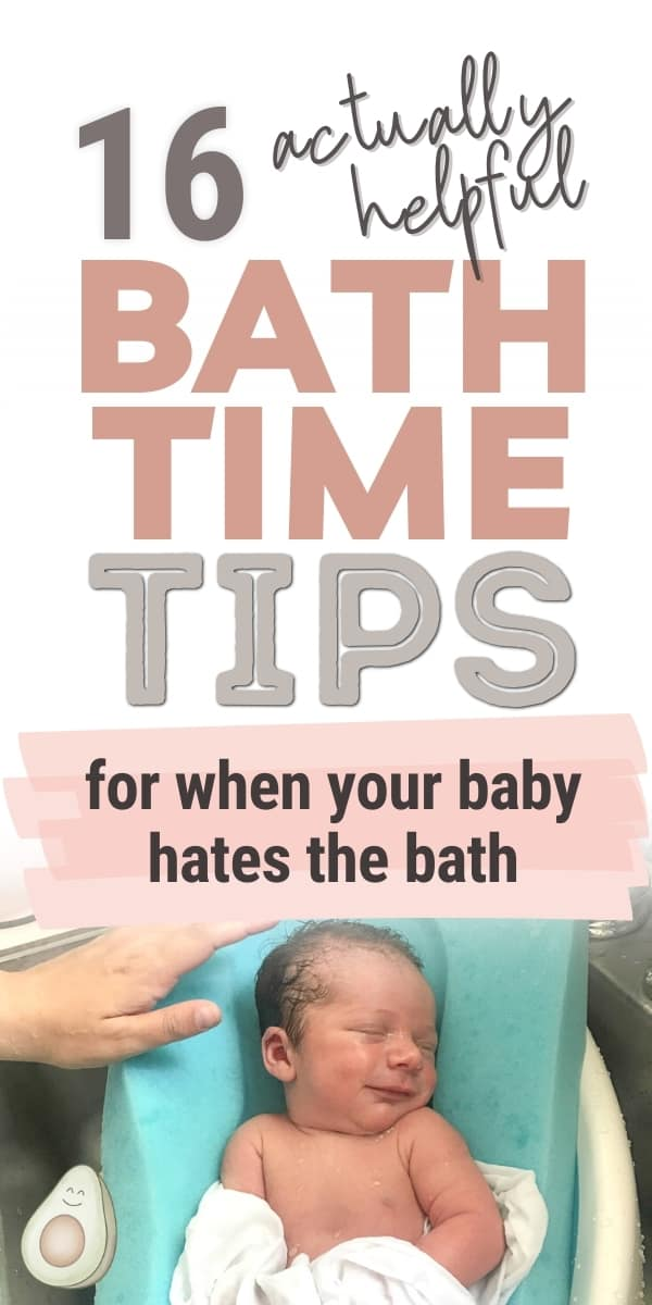 bath time tips baby hates bath
