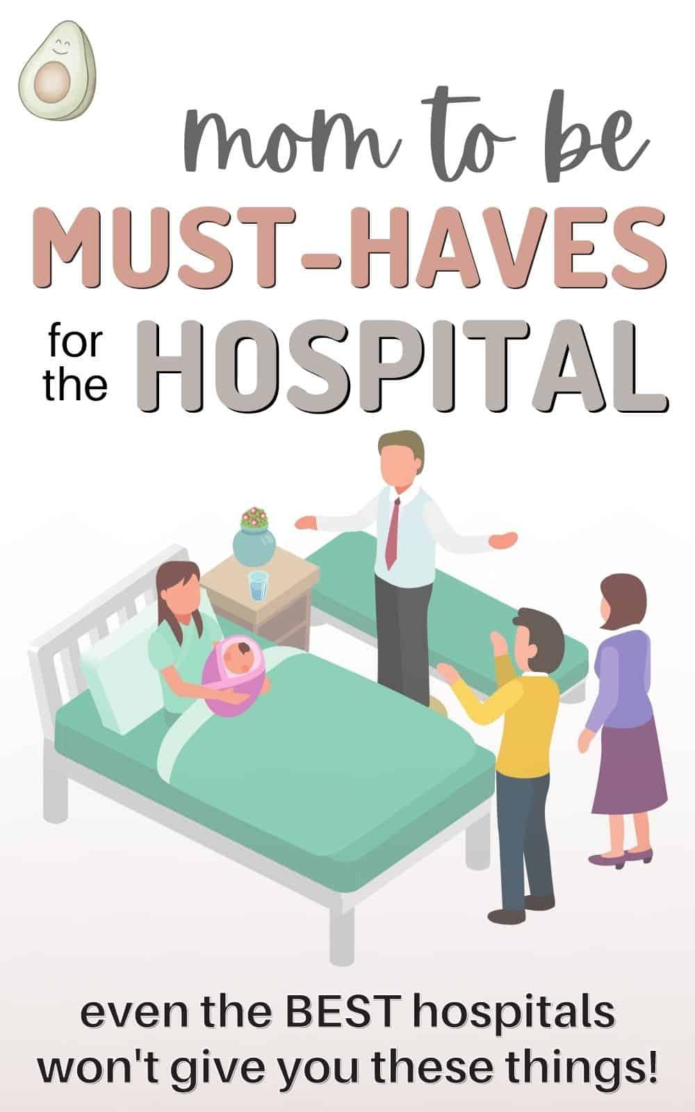 hospital bag must haves birth