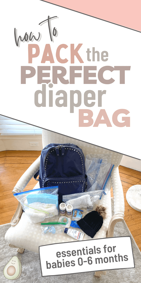 diaper bag essentials pin