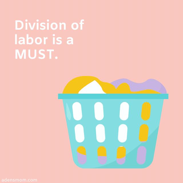 newborn survival division labor
