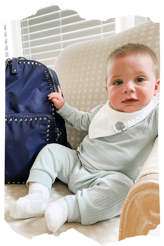 Diaper Bag Backpack with Baby