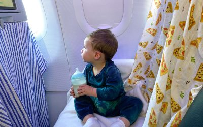 Flying with an Infant During the Pandemic: A Real Mom's Tips
