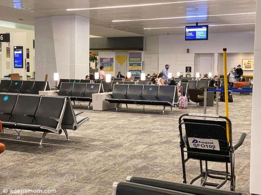 airport terminal covid-19