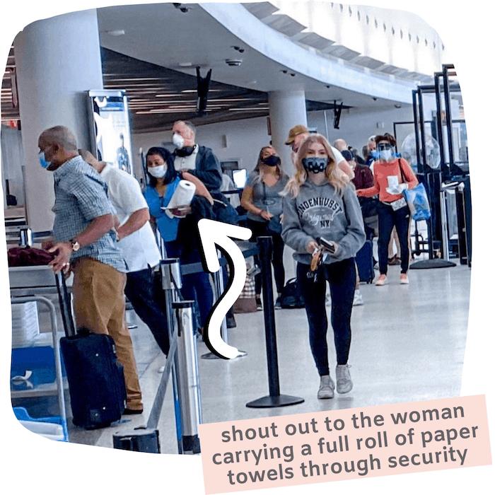 airport security coronavirus