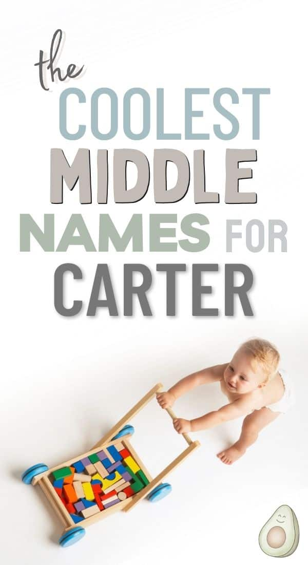middle name for carter