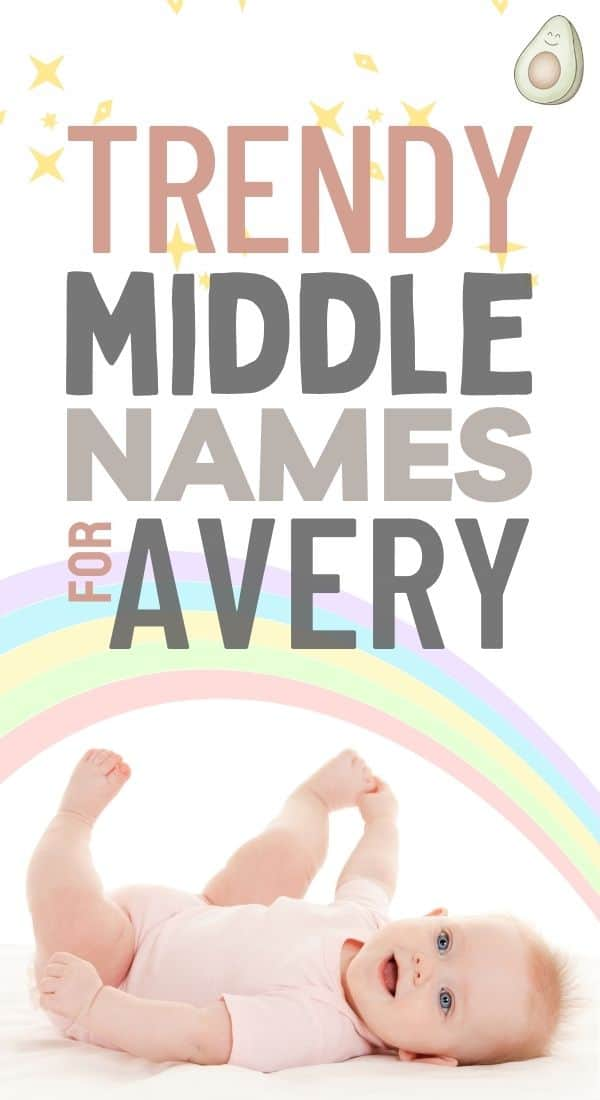 middle names for avery