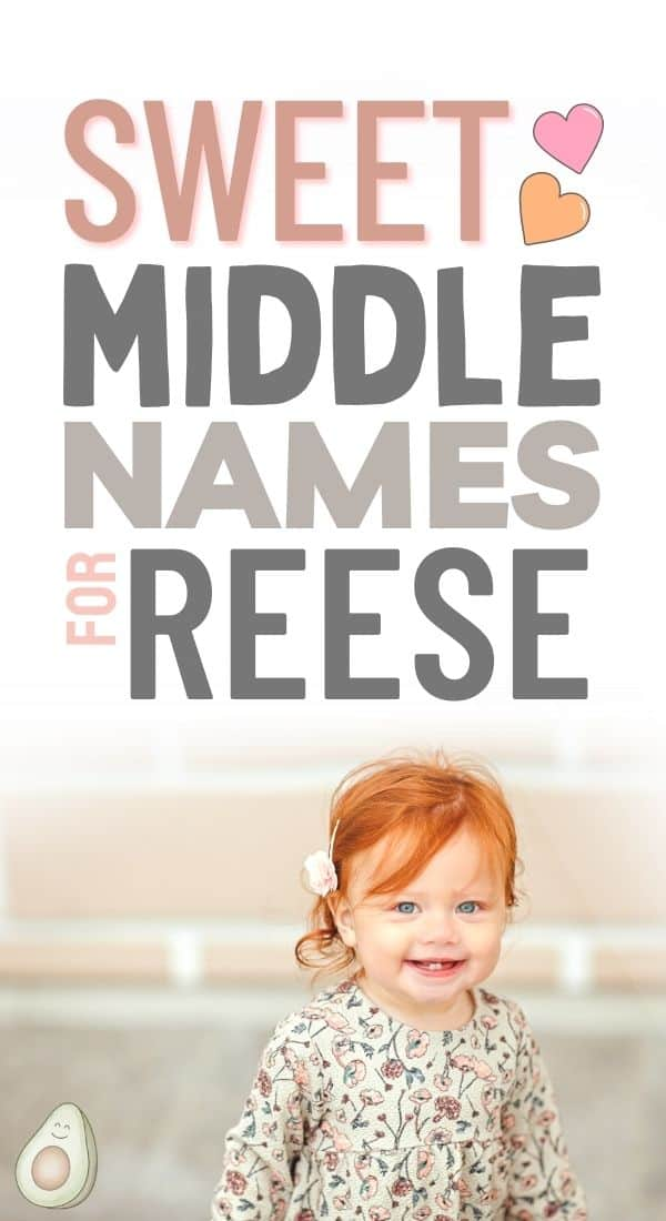 middle names for reese pin