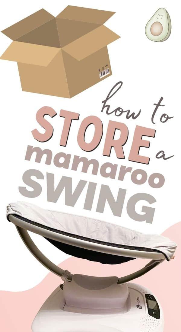 how to store mamaroo swing