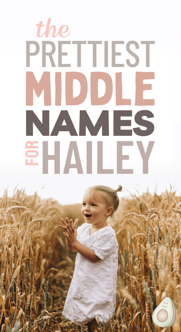 middle names for hailey