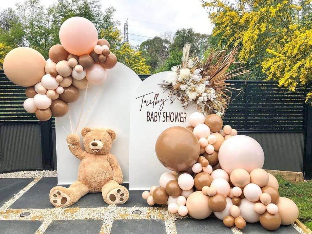 boho baby shower decorations