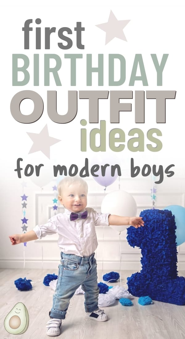 first birthday outfit boy