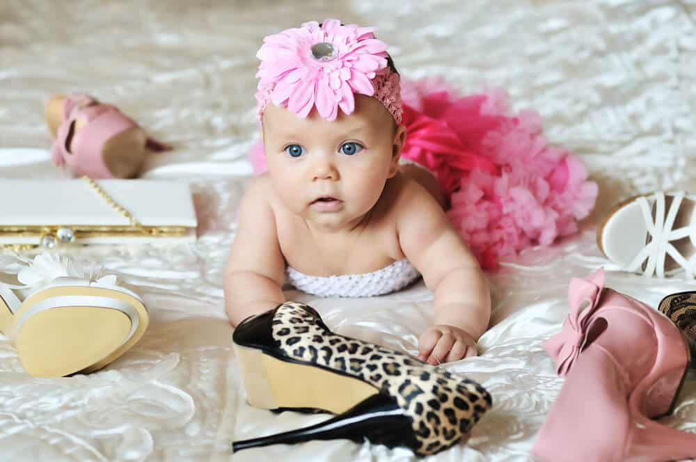 modern baby girl