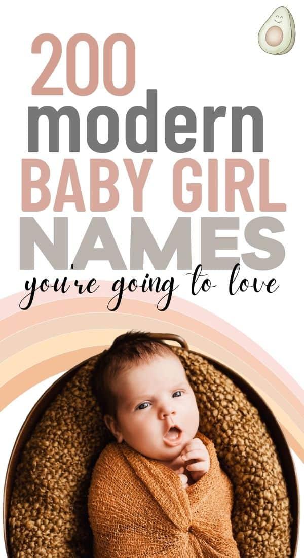 modern girls names