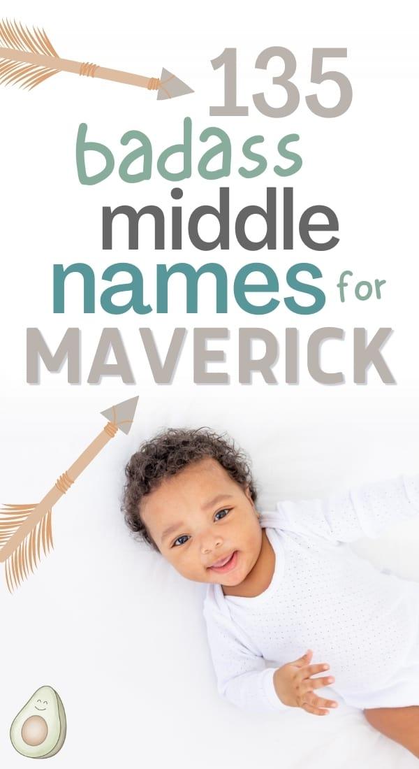 middle name for maverick pin