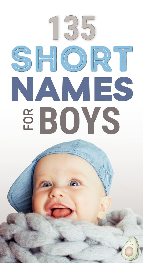 short names for baby boys
