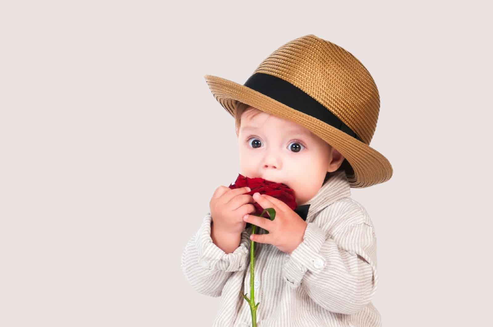southern boy wearing hat