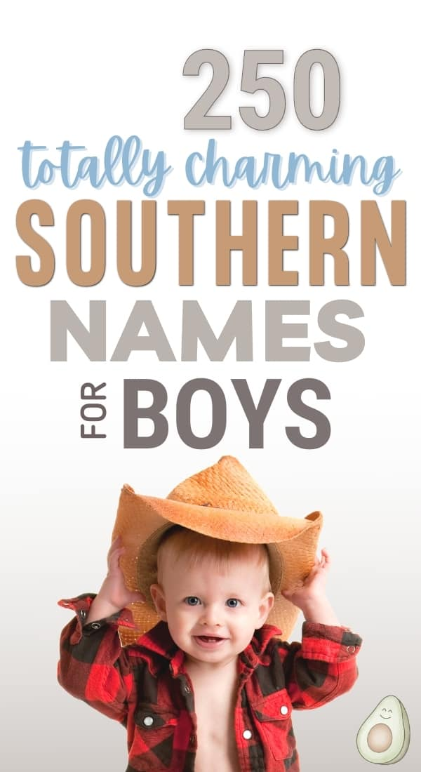 charming southern names for boys