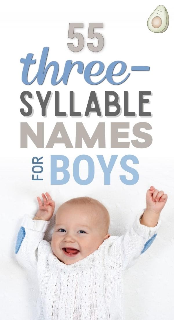 3 syllable boy names