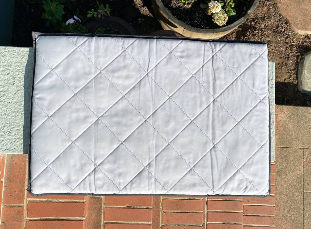 clean pack n play air drying
