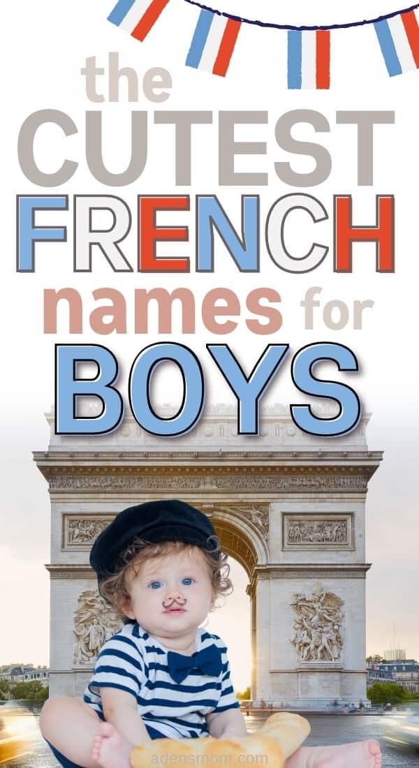 french boy names pin