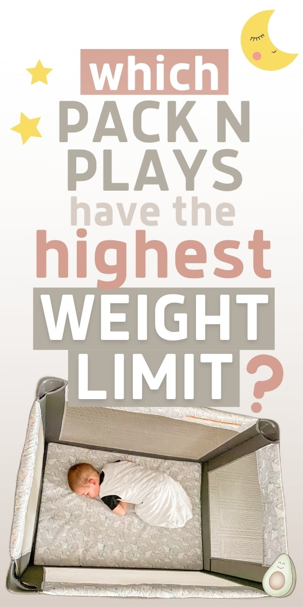 pack n play highest weight limit