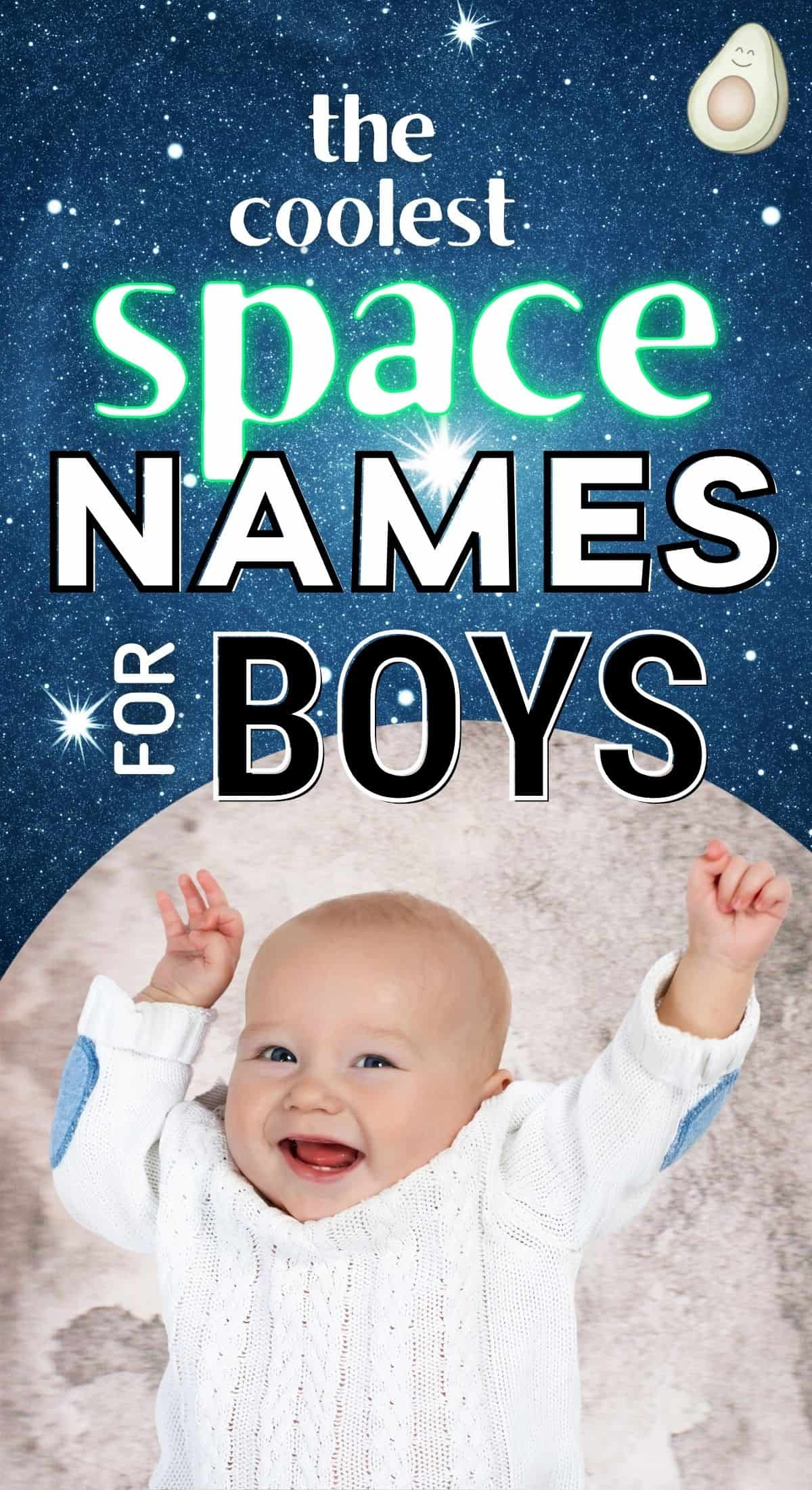 83 Space Names for Babies that are Actually Cool