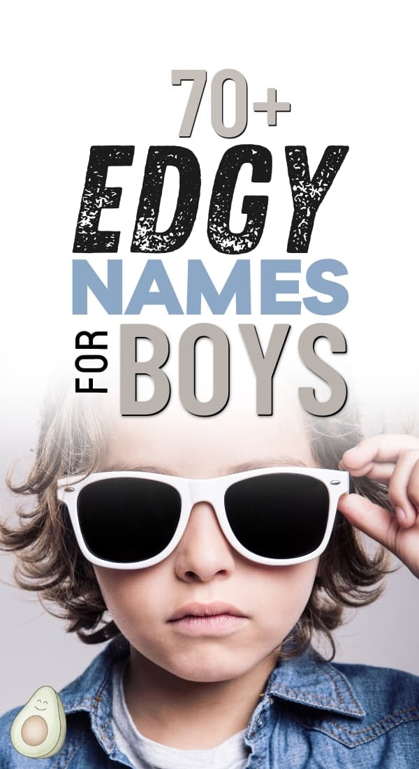 edgy names for boys