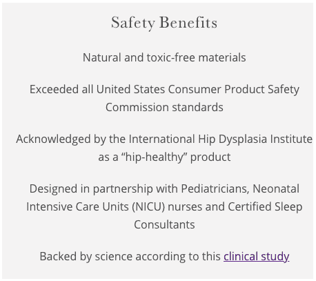 supposed safety benefits