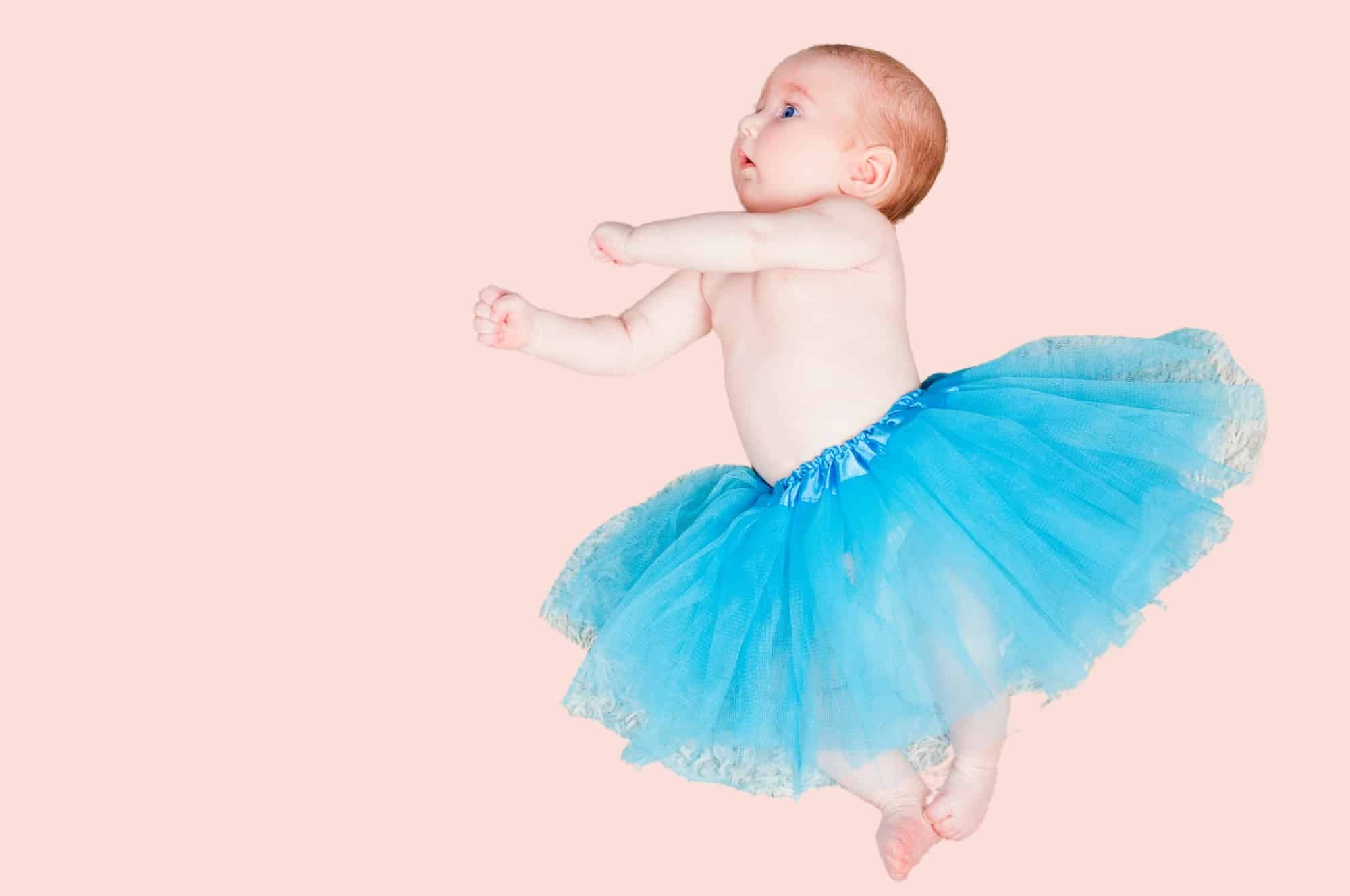 graceful baby girl