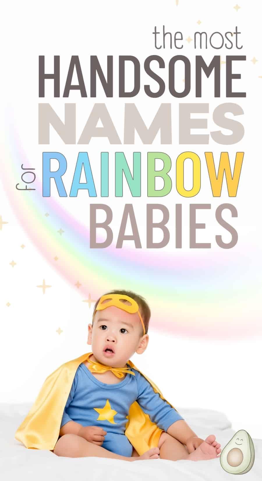 boy names for rainbow babies
