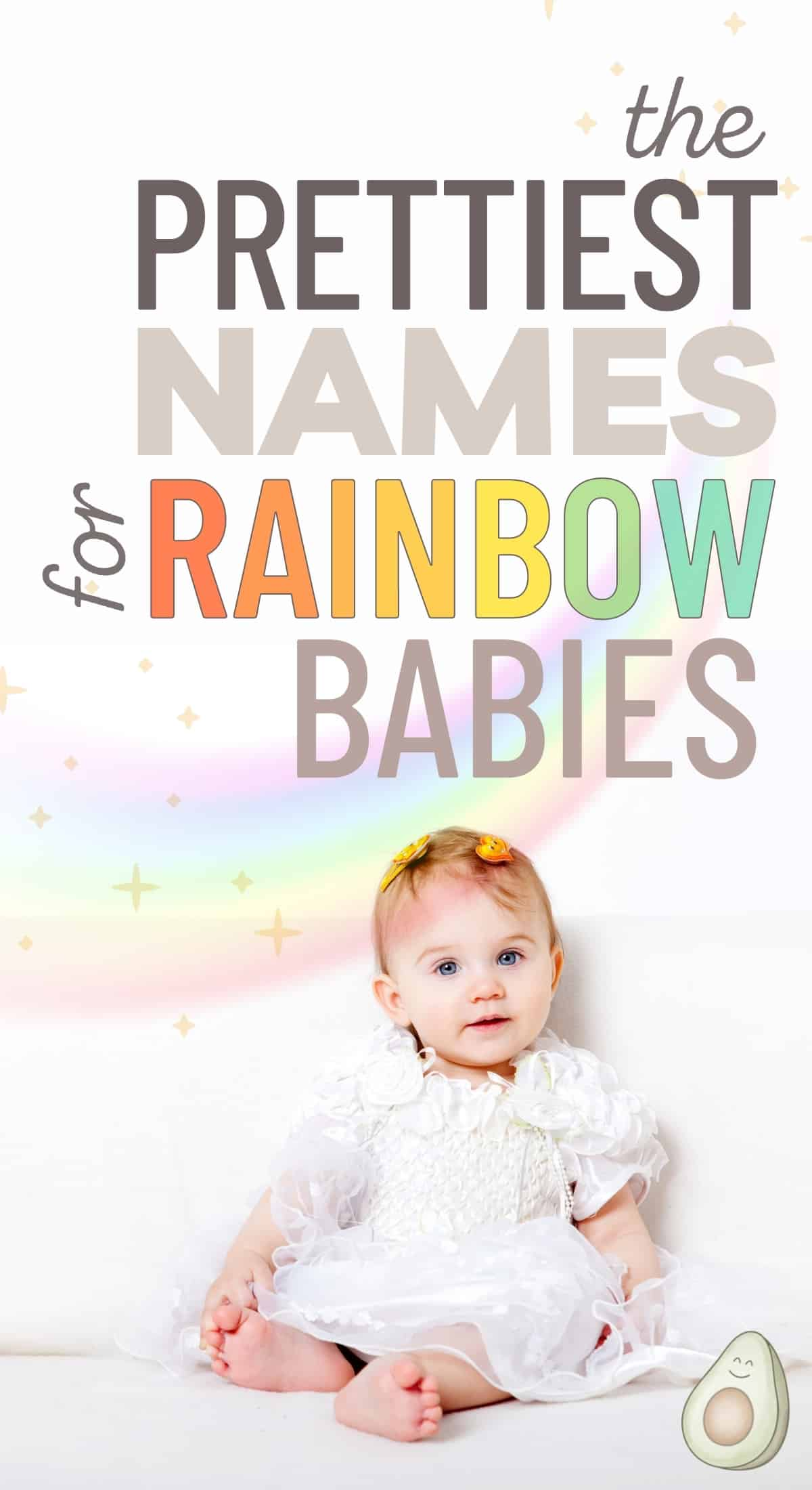 names for rainbow babies girl